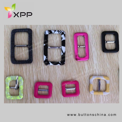 Fashion Colorful Fabric Covered Buckle for Garment, Bag, Shoes