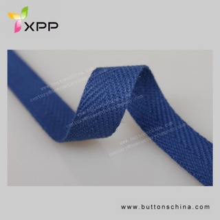 Dyeable 100 % Cotton Tape Webbing