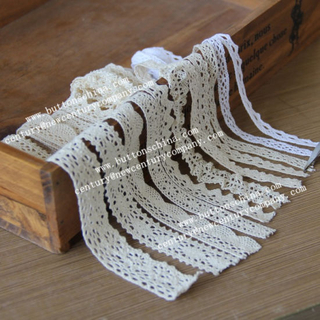 001 New Style Cotton Crochet Lace for Garment