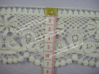 007 Manufactory Fashion New Design Cotton Crochet Lace