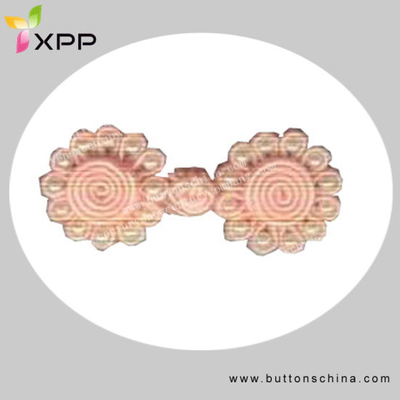 Pink Color Fancy Chinese Knot Button