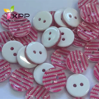 Fashion New Style Plastic Button Two Colors