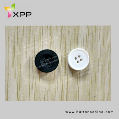 2h Concave Convex Resin Plastic Button for Coat