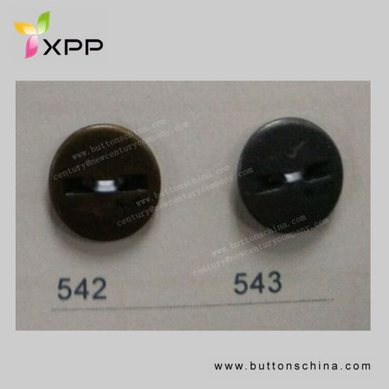 17mm New Style Plated Metal Button