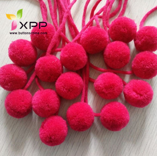 Large Size POM POM Trim Ball