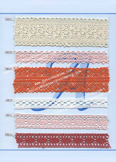 005 Wholesaler of Cotton Crochet Lace