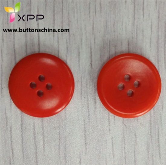 2h Genuine Corozo Button Red Button