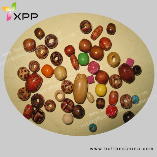 Differnet Size Natural Wooden Beads (NCBT-3)