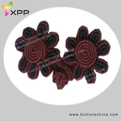 Weaven Twist Chinese Knot Button
