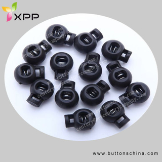 Spring Plastic Round Toggle Stopper Cord Locks End