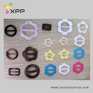 Fashion Colorful Plastic Buckle for Garment Resin Buckle