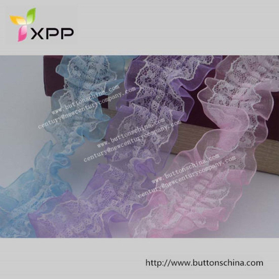 Colorful Mesh Fabric Lace