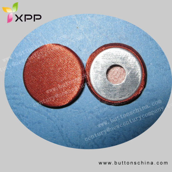 Aluminum Fabric Cover Button