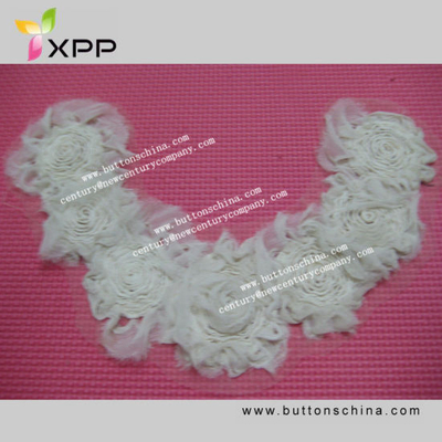 New Style Collar Lace for Garment with Stain Tape