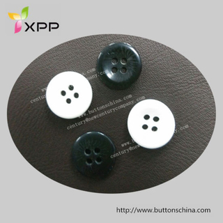Shirt White Button Chalk Button