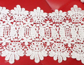 004 Fashion New Design Cotton Lace