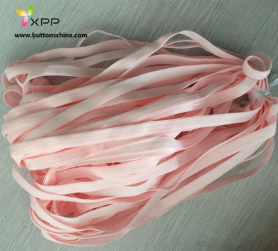 Pink Elastic Tape with Glue